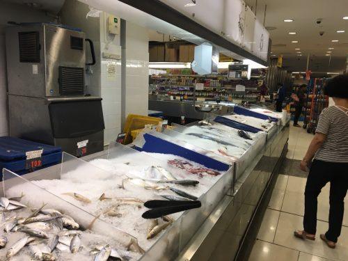 販売されている鮮魚