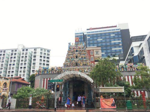 スリ・ヴィラマカリアマン寺院の外観