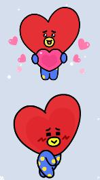 タタのスタンプ・愛情表現