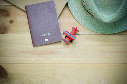 海外旅行で使うパスポートのイメージ