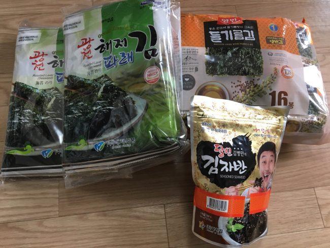 韓国海苔・振りかけのイメージ